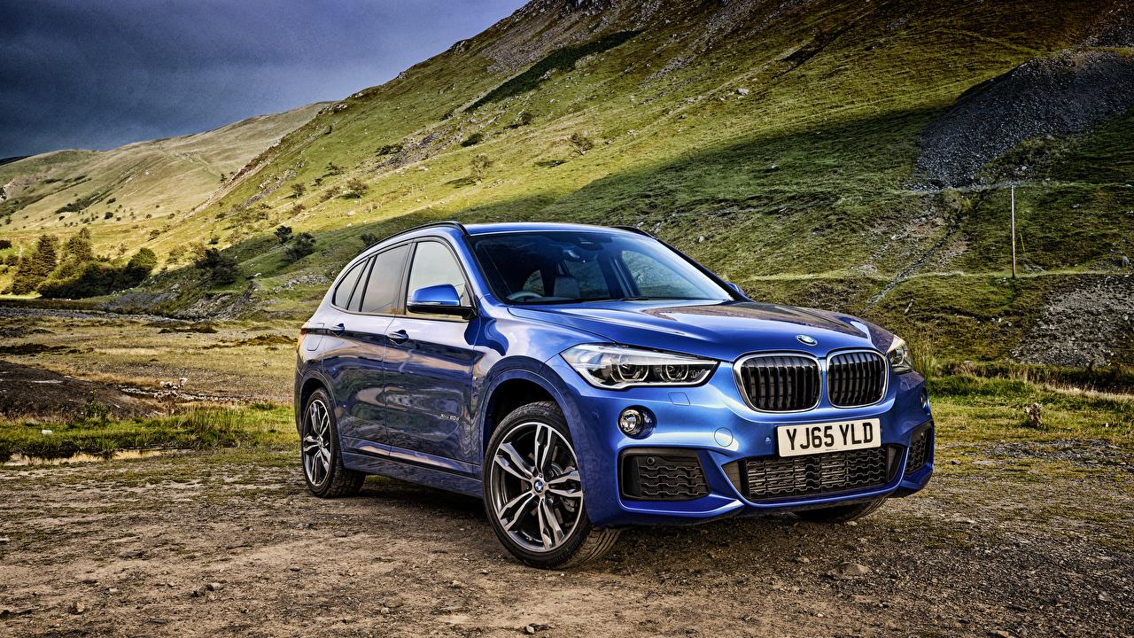 Picture BMW xDrive 2015 F48 X1 M Blue Metallic automobile Cars auto