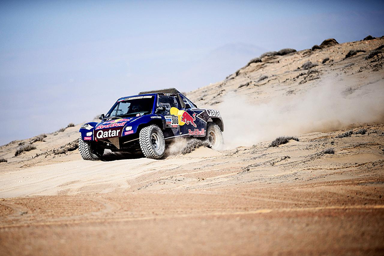 Bilder von Tuning Rallye Buggy Dakar Red Bull Sport Wüste Autos Fahrzeugtuning