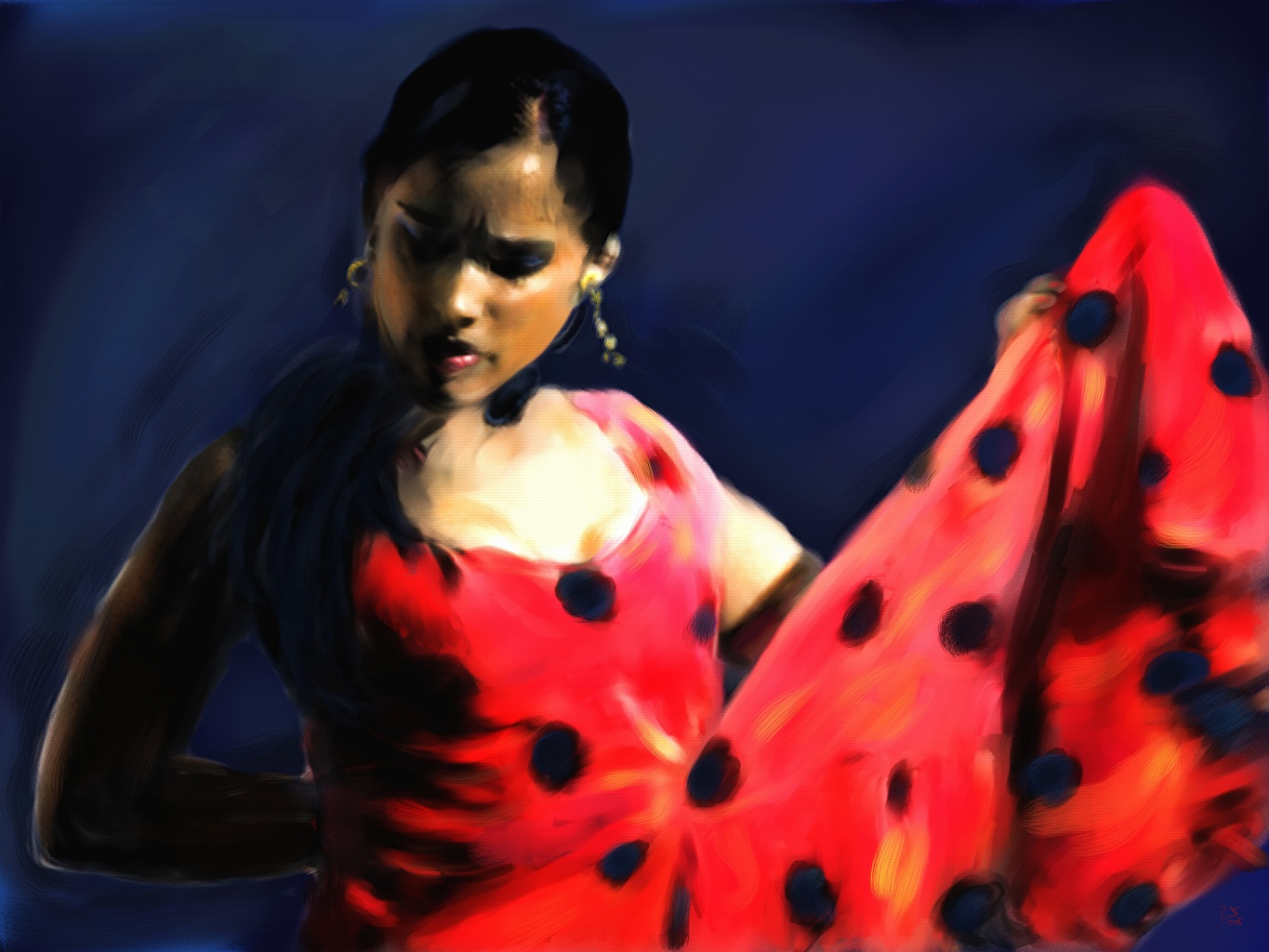 Image result for young girl flamenco dancer
