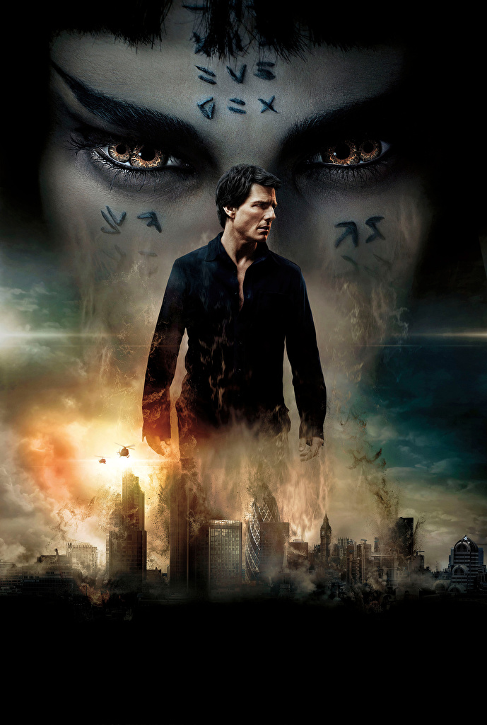Images Tom Cruise Men The Mummy (2017) film Celebrities  for Mobile phone Man Movies