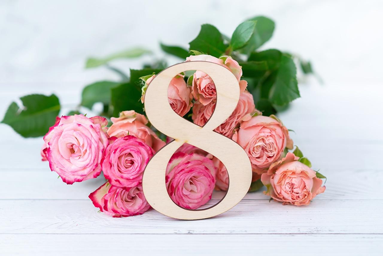 Mazzo Di Fiori 8 Marzo.Sfondi Del Desktop 8 Marzo Mazzo Di Fiori Rose Fiori