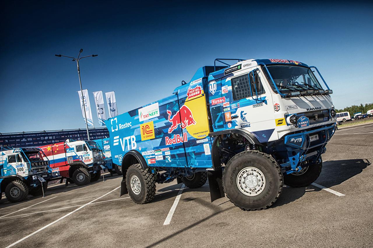 Photos KAMAZ Trucks 2018 Kamaz-43509 Cars lorry auto automobile