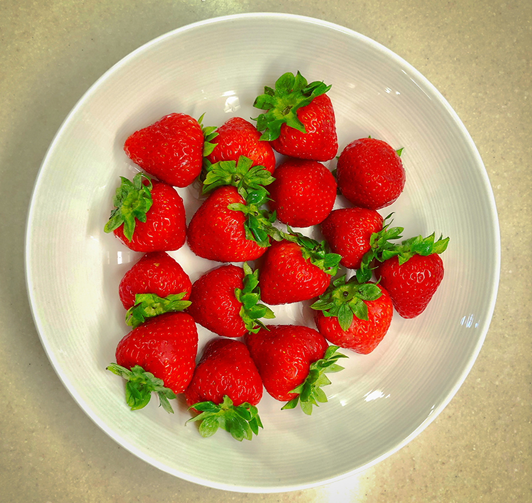 Images Strawberry Food Plate