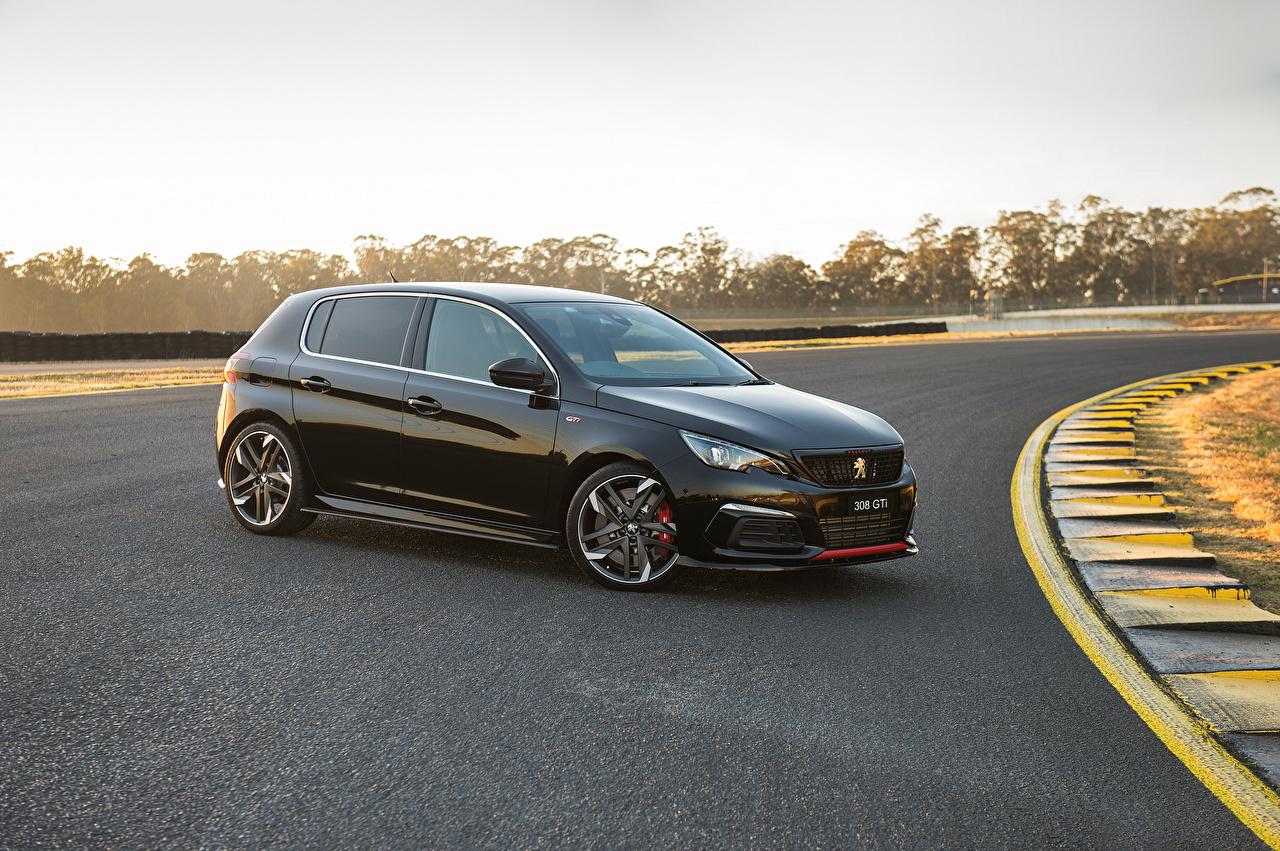 Fonds D Ecran Peugeot 2019 308 Gti Sport Noir Metallique Voitures