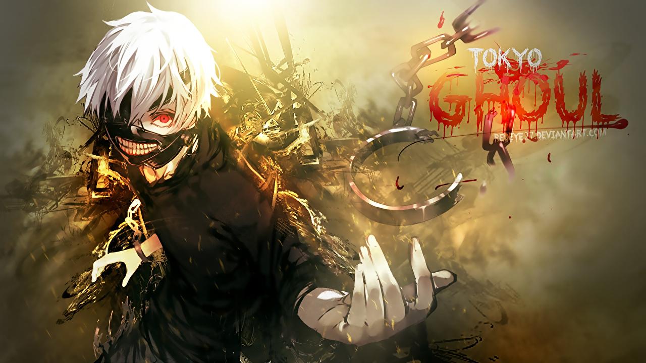 Photos Tokyo Ghoul Young Man Kaneki Ken Anime Masks