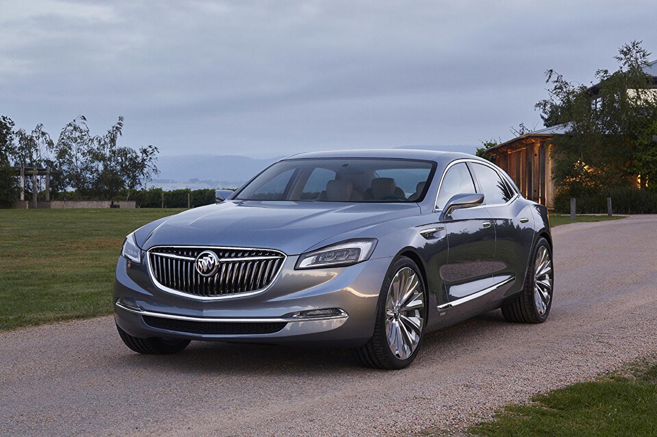 Foto Buick 2015 Avenir Lusso grigia Auto Metallizzato costoso costose lussuoso Grigio macchina macchine metallico automobile autovettura