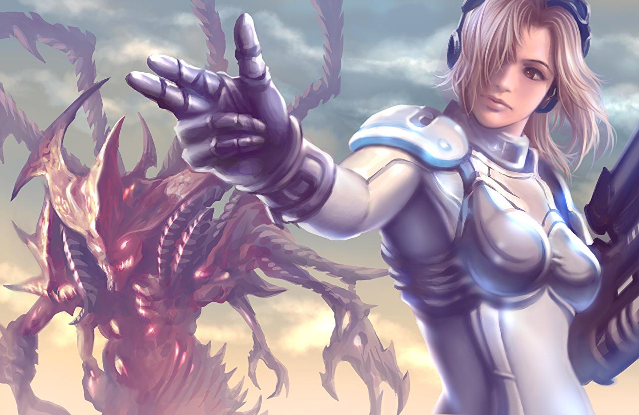 壁紙 Heroes Of The Storm スタークラフト Nova Terra ゲーム