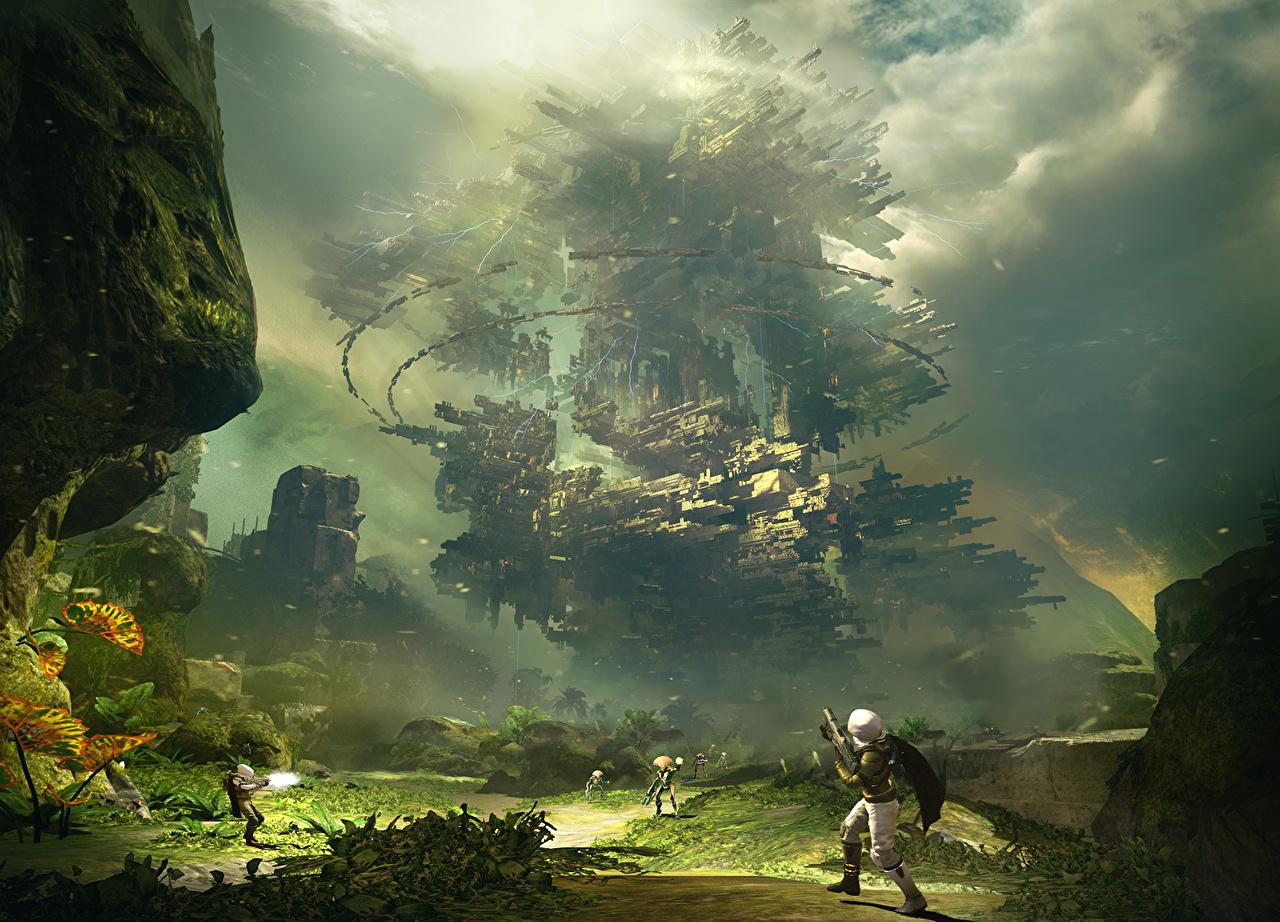 壁紙 Destiny ビデオゲーム 幻想的な世界 ウォリアーズ Citadel
