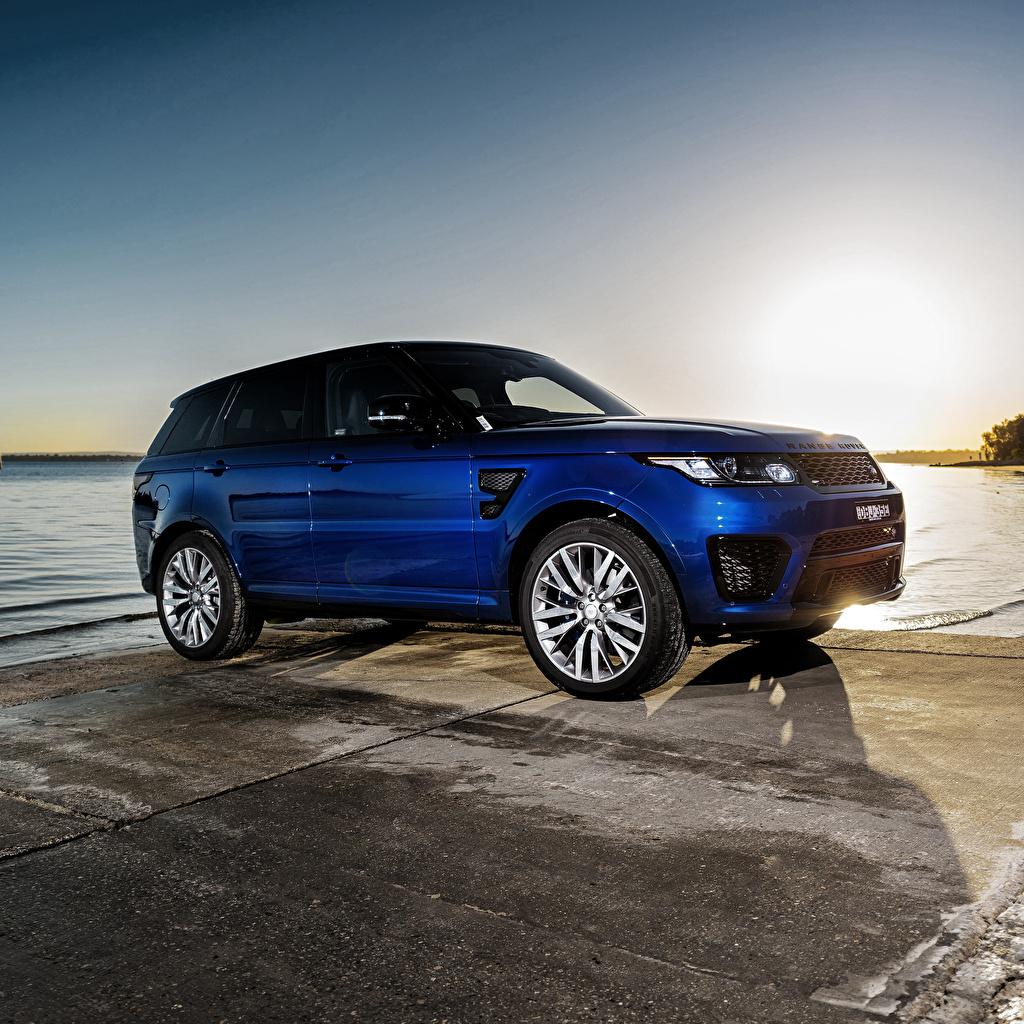 Picture Land Rover Sport Blue automobile Range Rover Cars auto
