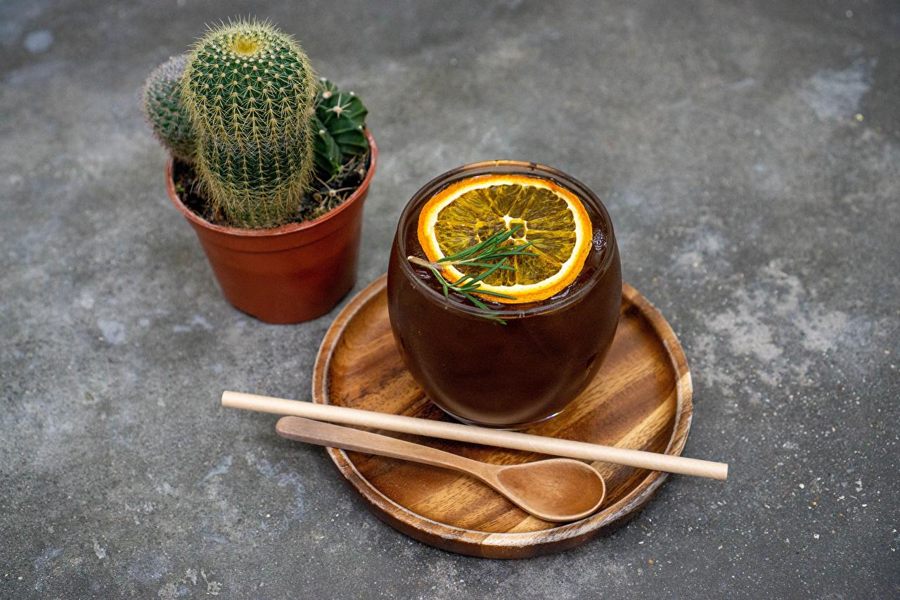 Images Tea Flowerpot Lemons flower Cup Food Spoon Cactuses plant pot flower pot Flowers cacti