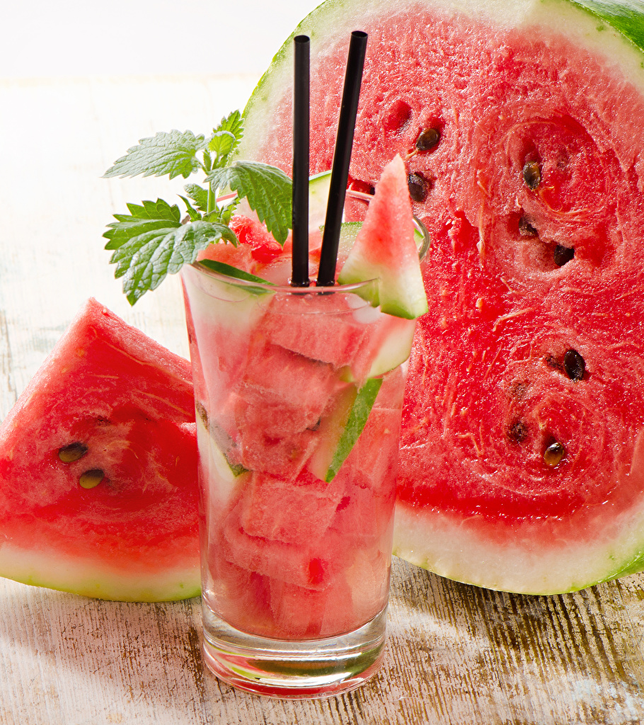 Picture Piece Watermelons Highball glass Food drink pieces Drinks