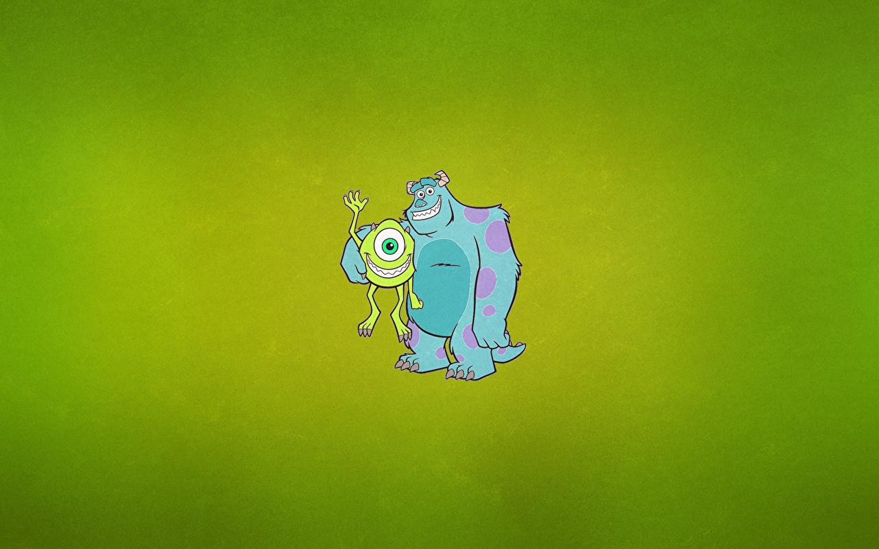 Bilder von Die Monster Uni Animationsfilm Vektorgrafik 1280x800 Zeichentrickfilm