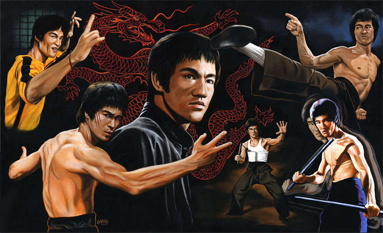 bruce lee training video download