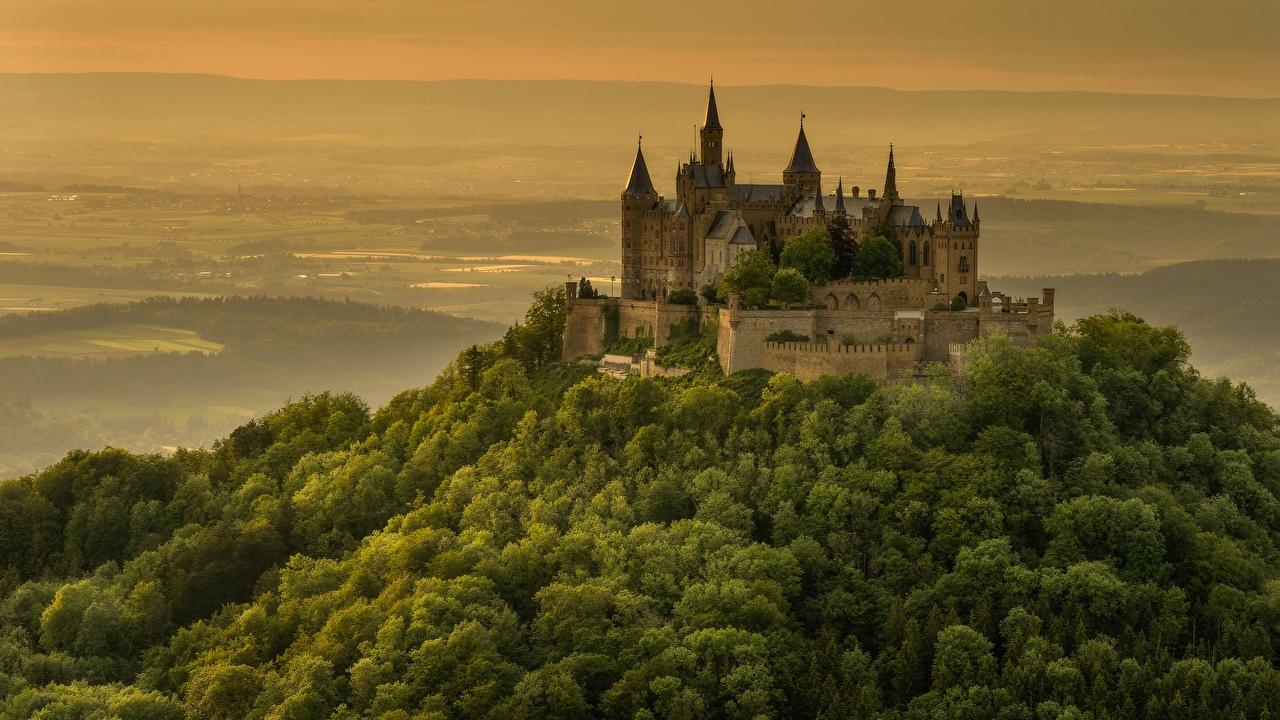 Fonds D Ecran Chateau Fort Allemagne Hohenzollern Castle