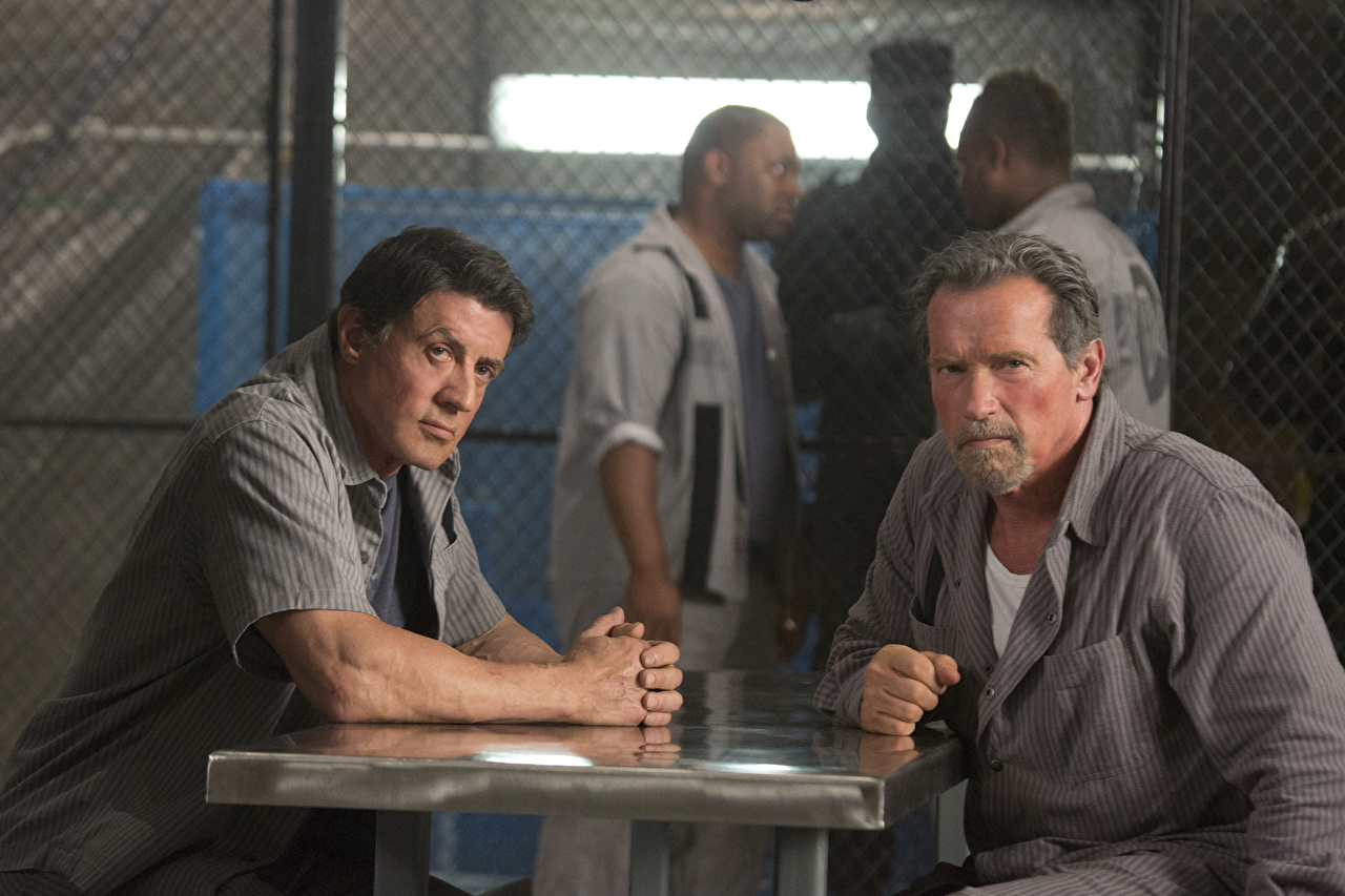 Photo Escape Plan film Sylvester Stallone Arnold Schwarzenegger Man Movies Celebrities Men film
