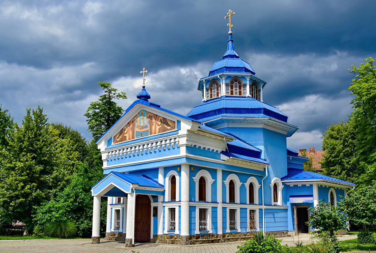 Image Church Ukraine Mukachevo Temples Cities temple