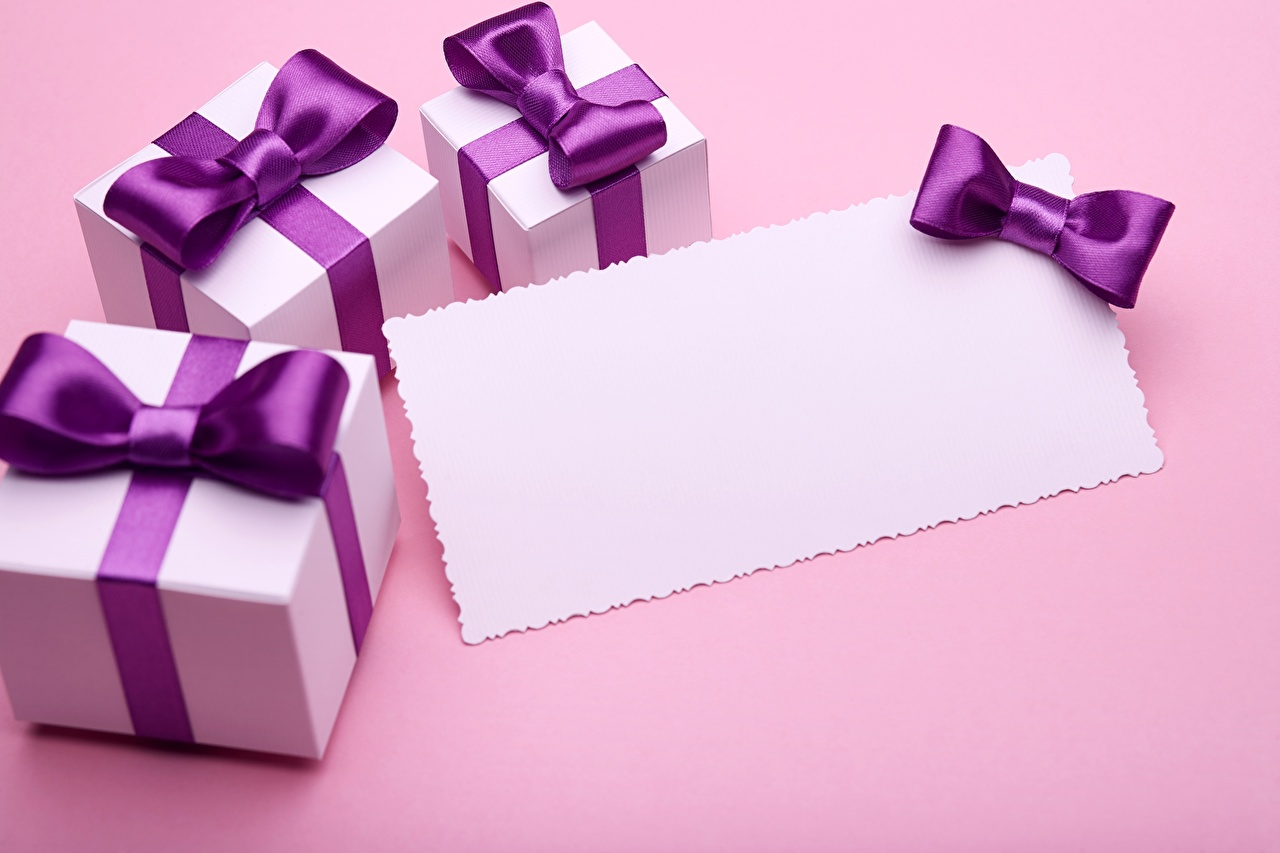 Wallpaper Box Gifts Template greeting card present