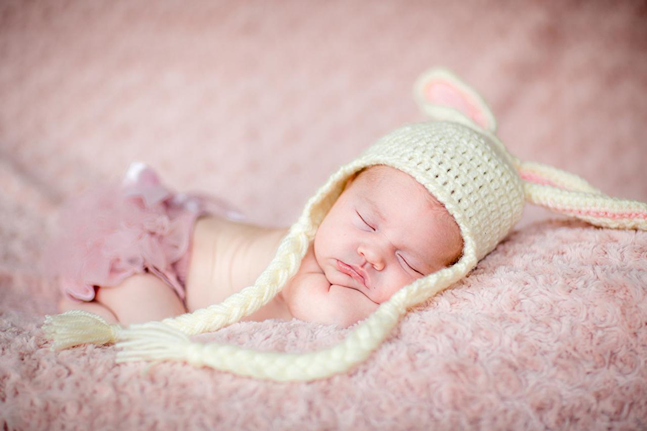 壁紙 赤ちゃん 眠る 暖かい帽子 子供 ダウンロード 写真