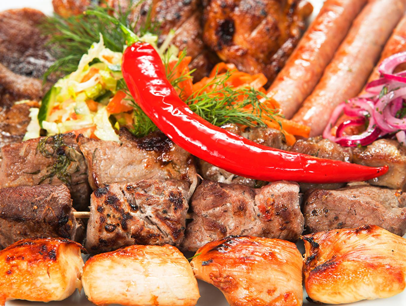 Hintergrundbilder Schaschlik Chili Pfeffer Frankfurter Würstel Peperone Lebensmittel Fleischwaren Wiener Würstchen