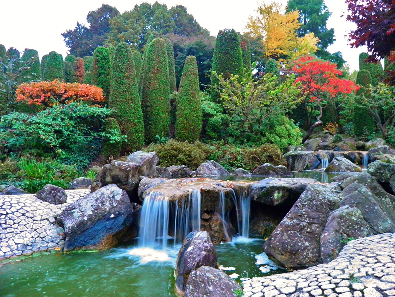 Desktop Hintergrundbilder Deutschland Bonn Natur Wasserfall ...