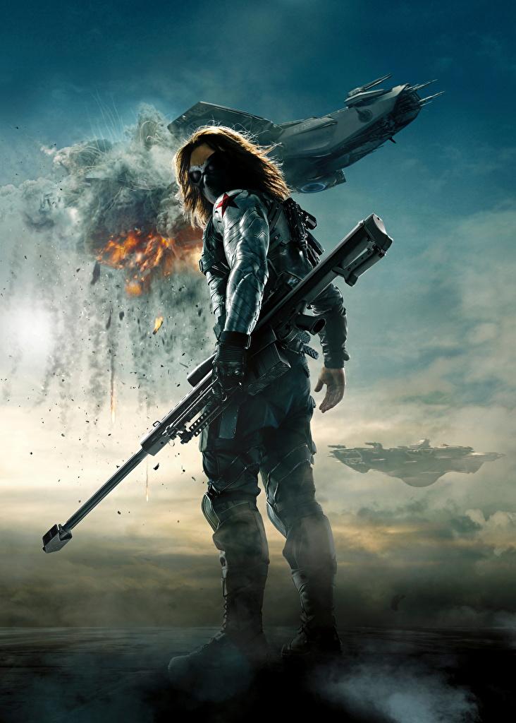 Picture Captain America: The Winter Soldier Sniper rifle