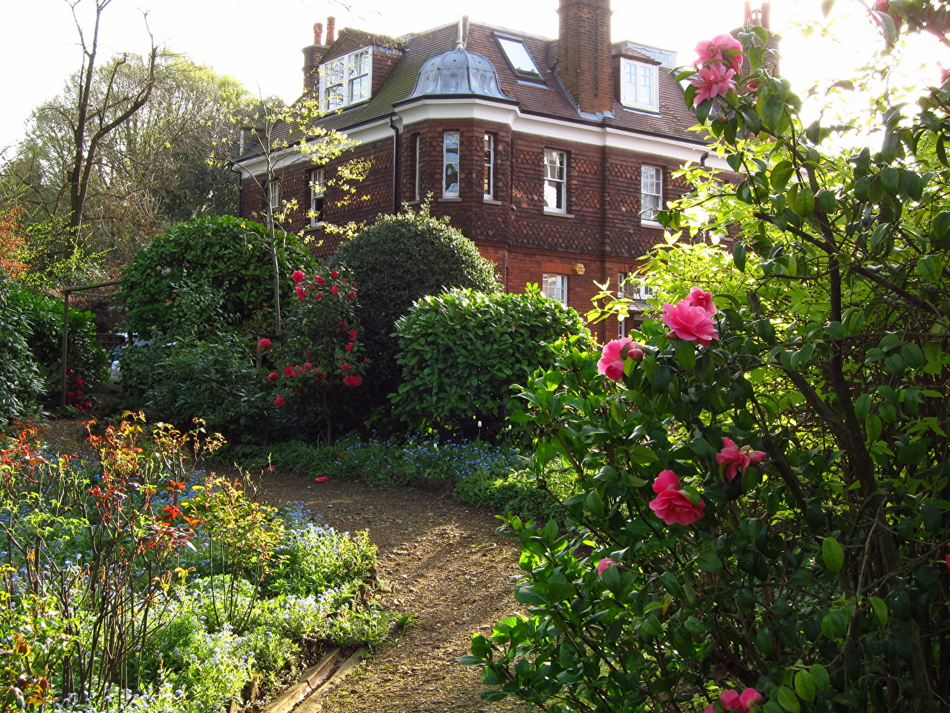 Images England Hampstead Gardens Cities Building Houses