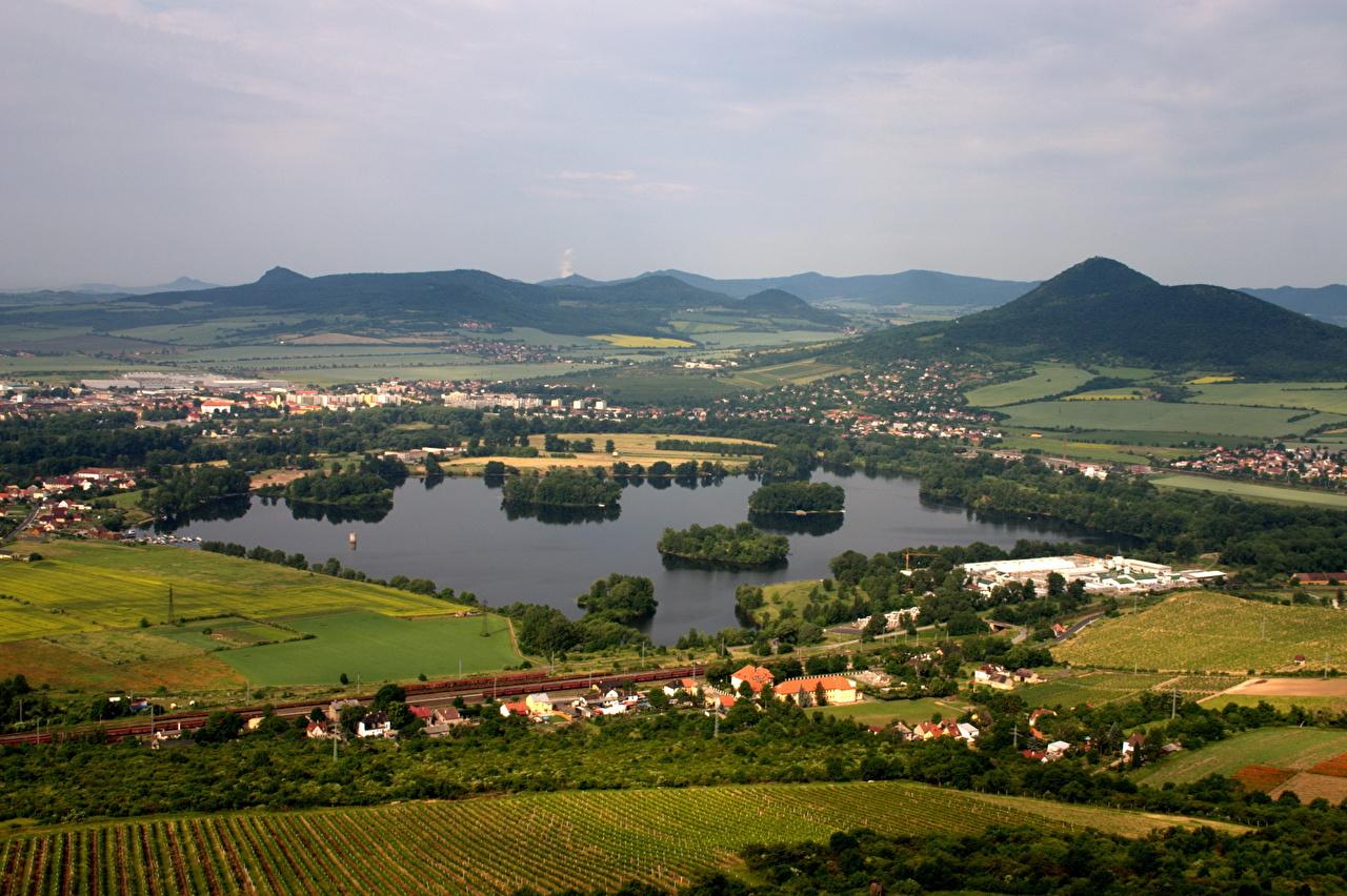 Desktop Hintergrundbilder Tschechische Republik Städte Landschaftsbau