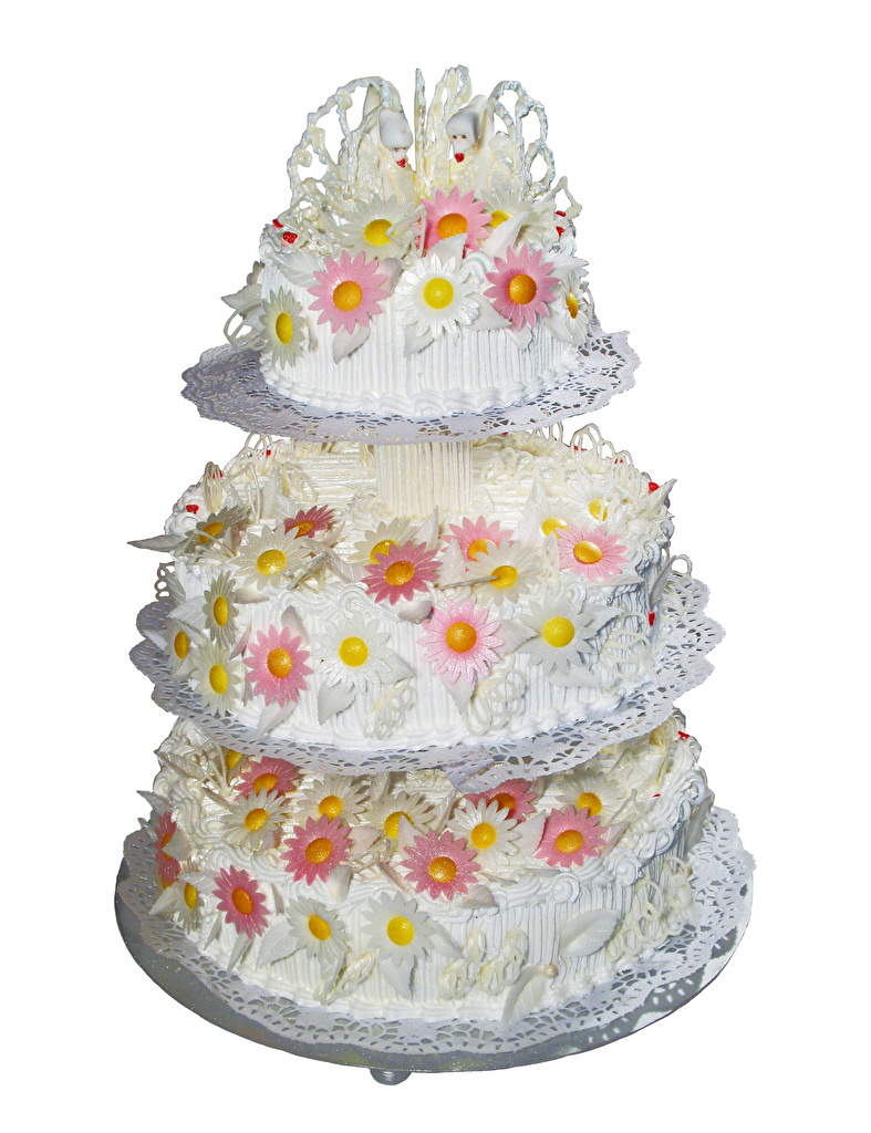 Picture Noces Wedding Cake Torte Food Sweets White