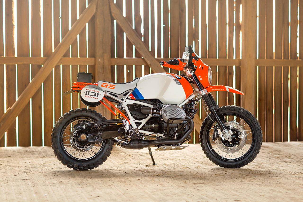 Picture BMW - Motorcycle 2016 Motorrad Concept Lac Rose Motorcycles Side motorcycle