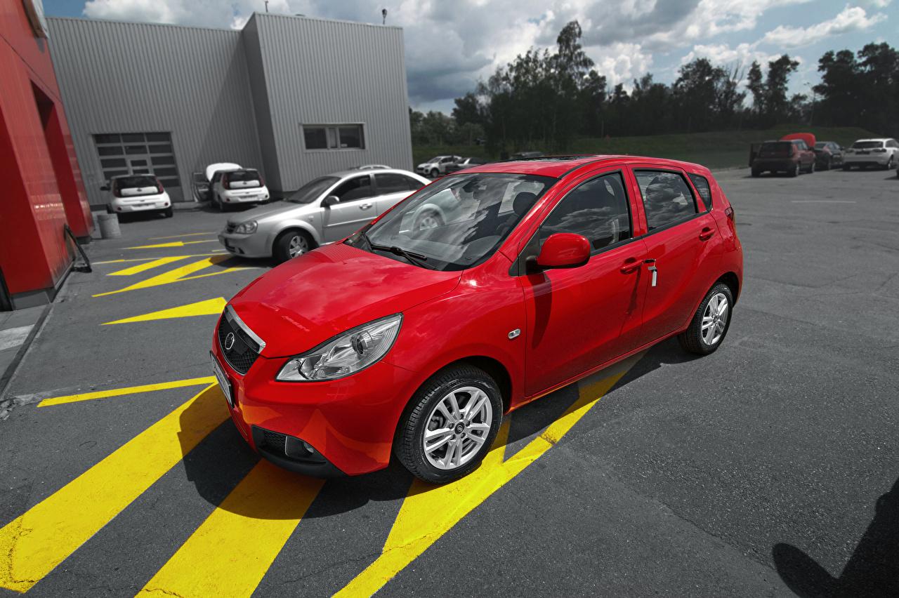 Picture 2016 ZAZ Slavuta Nova Red auto Metallic Cars automobile