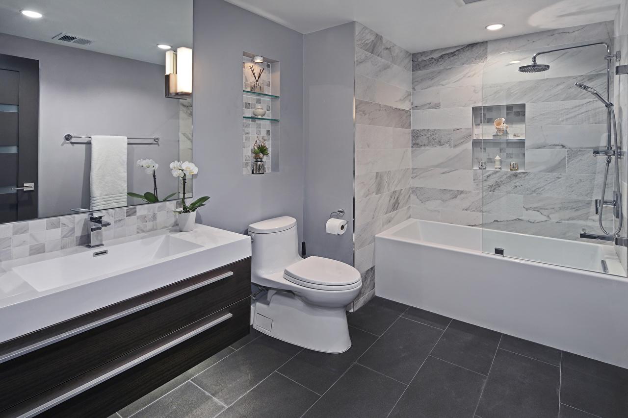 Fondos de Pantalla Diseño interior Diseño Cuarto de baño Inodoro ...