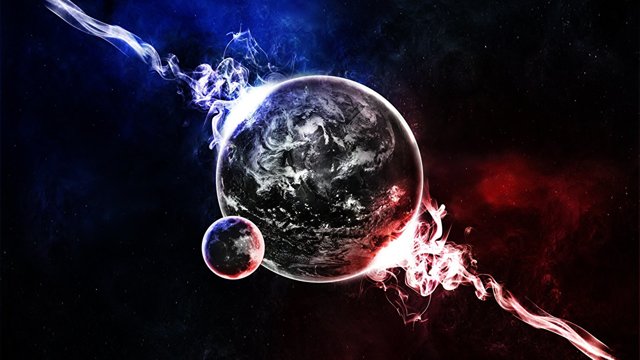 Звёздное небо и космос в картинках - Страница 10 Planets_Nebulae_in_space_442092