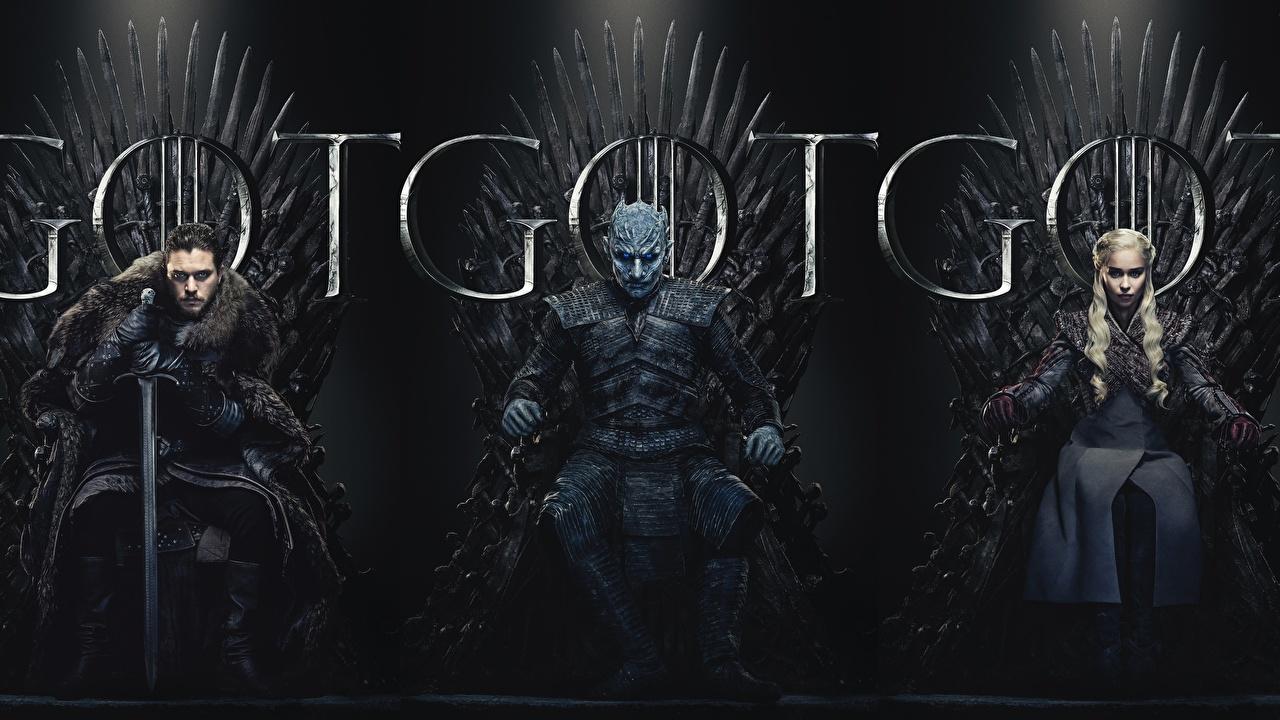 Fotos Game of Thrones 8 Film Drei 3 Sitzend