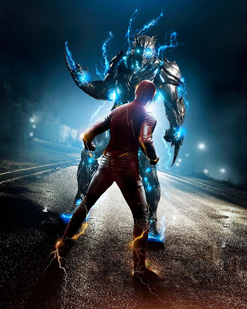 The Flash 2014 Flash Héroe Héroes del cómic Barry Allen superhéroes Película para móvil Teléfono