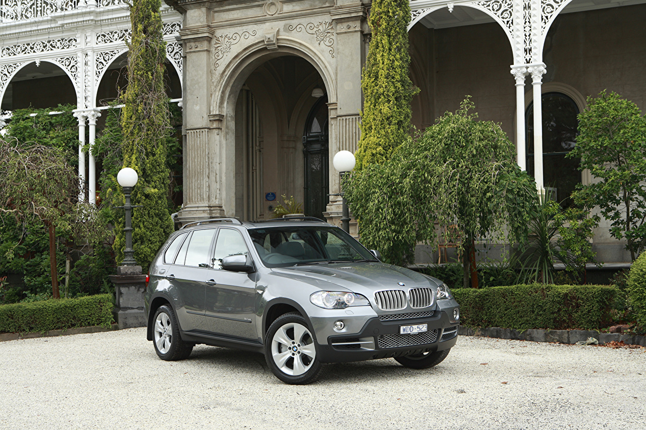 Picture BMW 2008-10 X5 3.0sd gray automobile Grey Cars auto