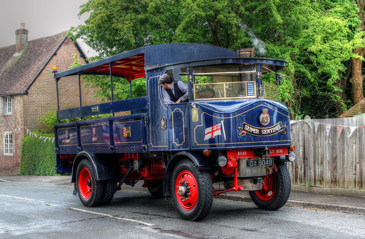 Pictures Trucks Retro Cars lorry vintage antique auto automobile