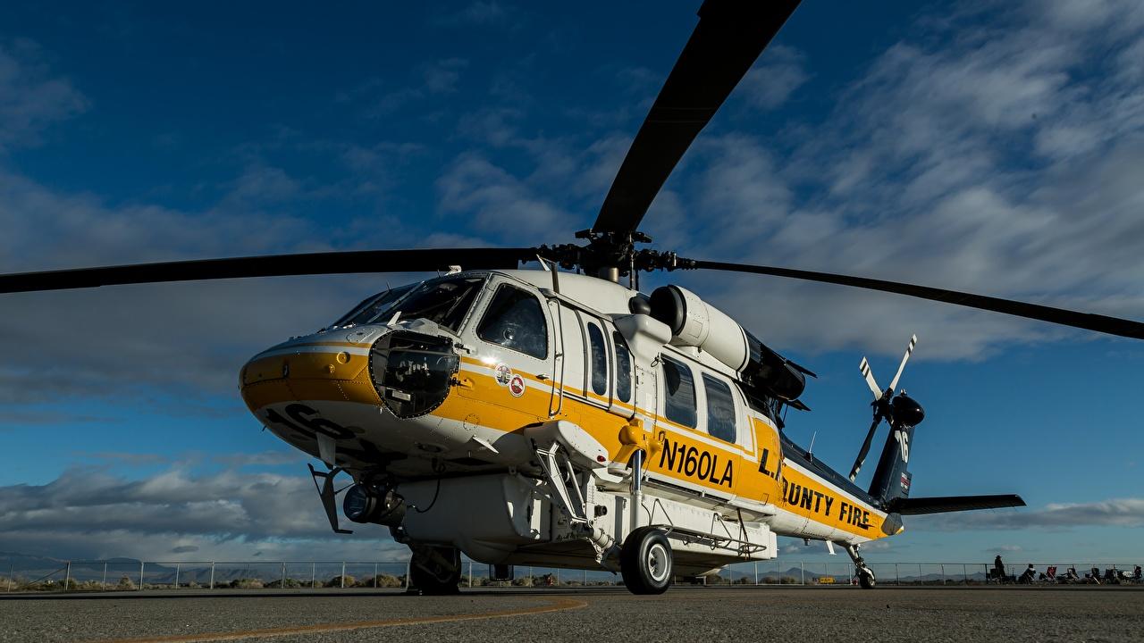 Bilder von Hubschrauber Sikorsky S-70A Luftfahrt