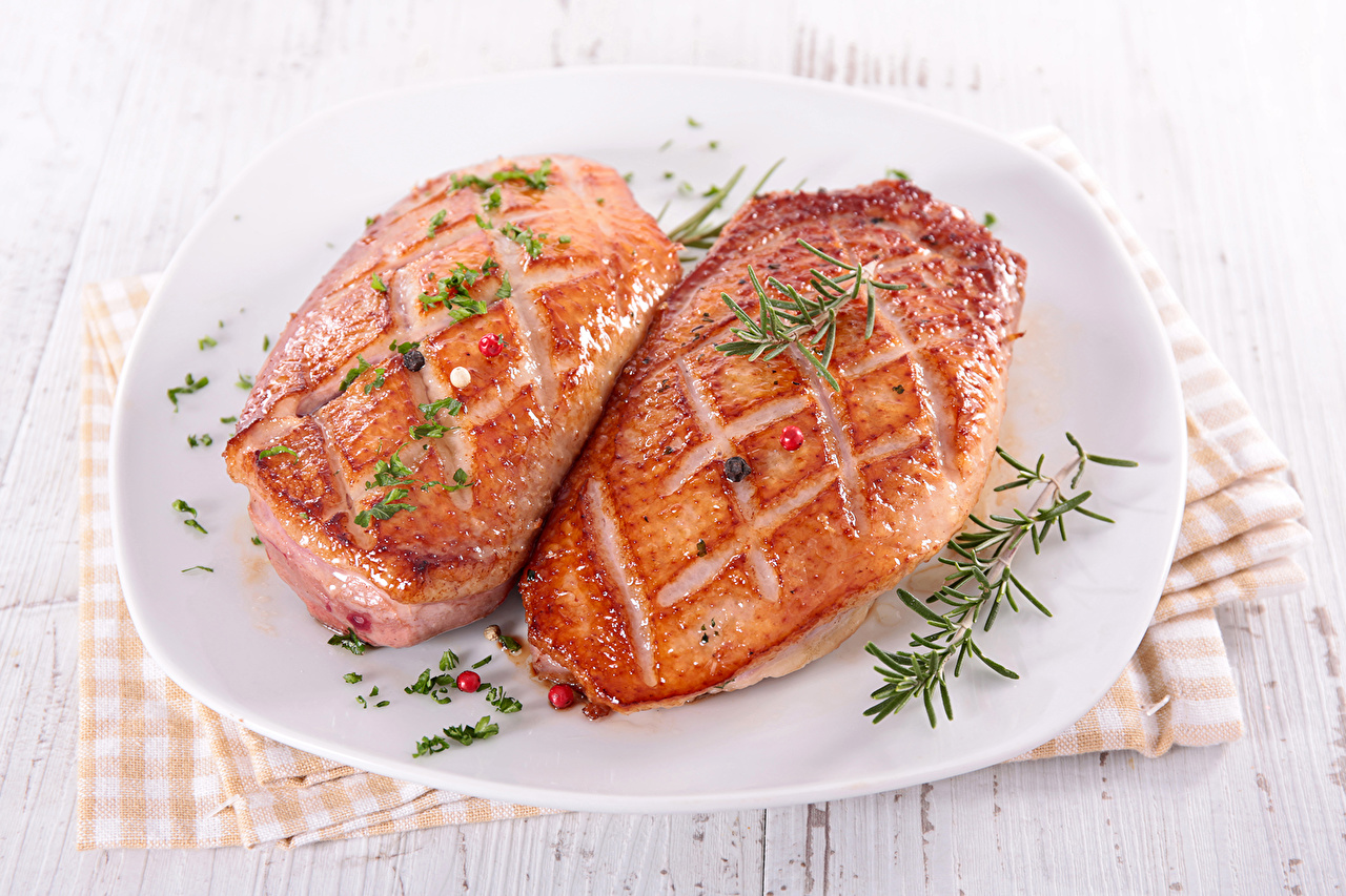 Wallpaper Food Plate Meat products