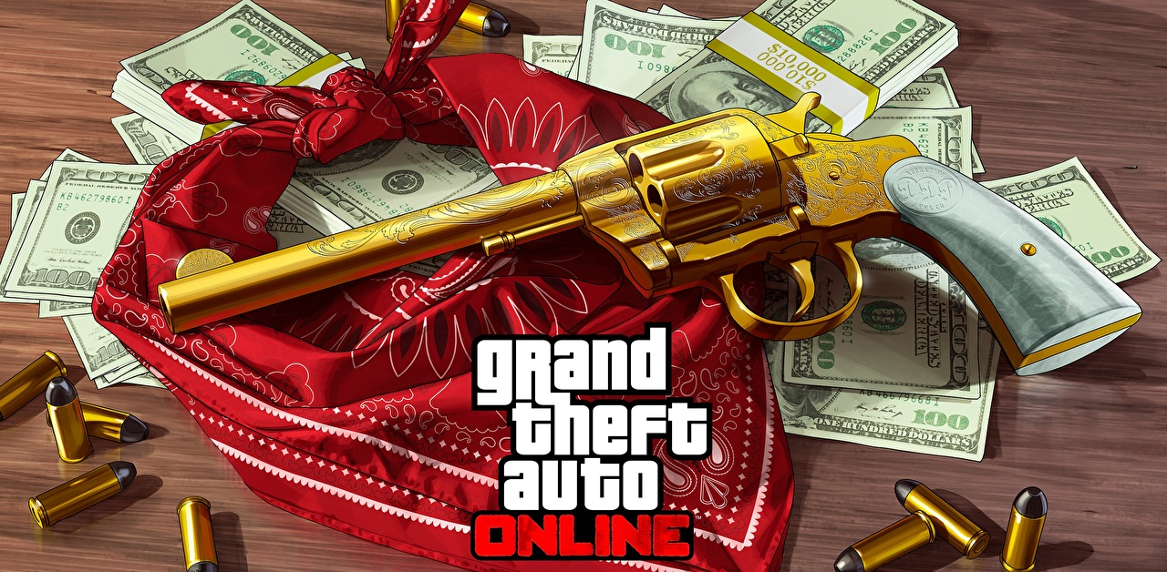 Images GTA pistol Revolver online Gold color vdeo game Grand Theft Auto Pistols Games