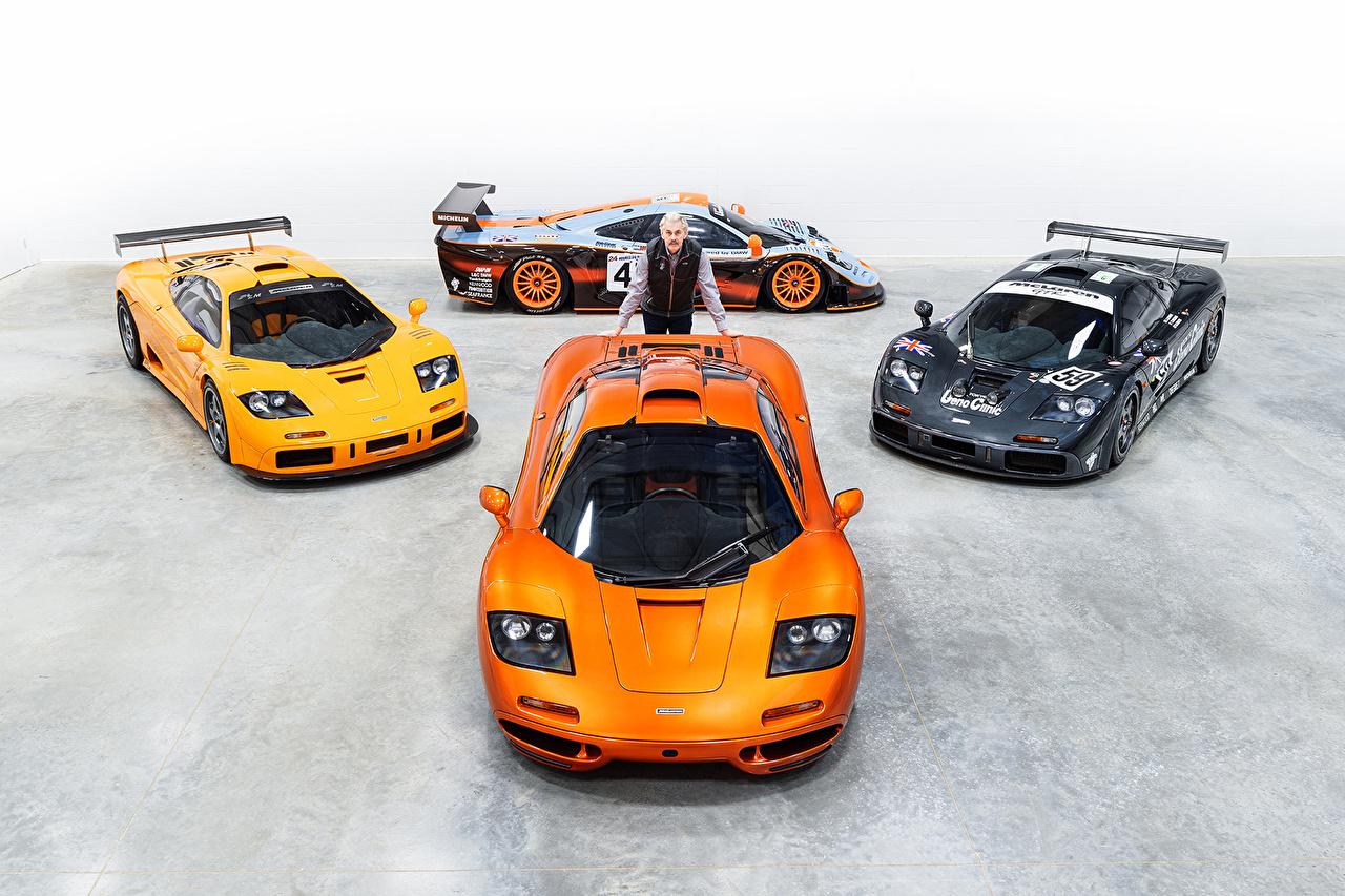 ,迈凯伦,改装车,男性,F1, Gordon Murray,橙色,汽车,