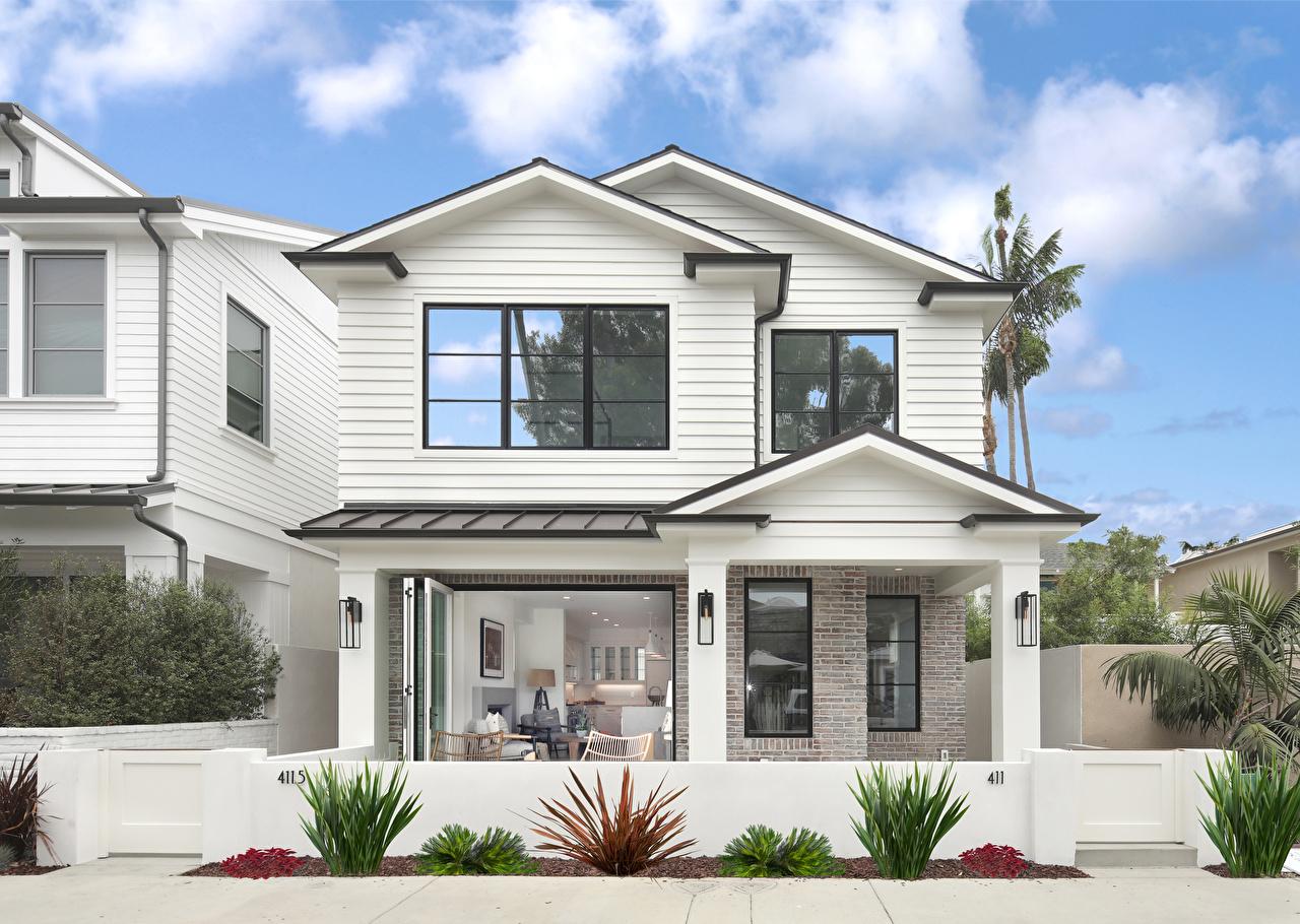 Wallpaper California USA Newport Beach Mansion Houses Cities Design Building