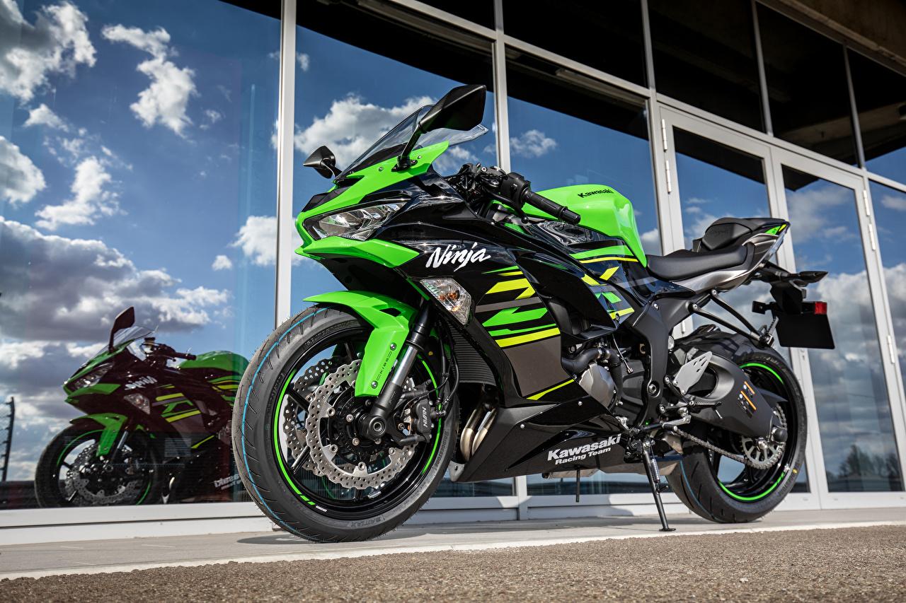 壁紙 川崎重工業 19 Ninja Zx 6r オートバイ ダウンロード 写真