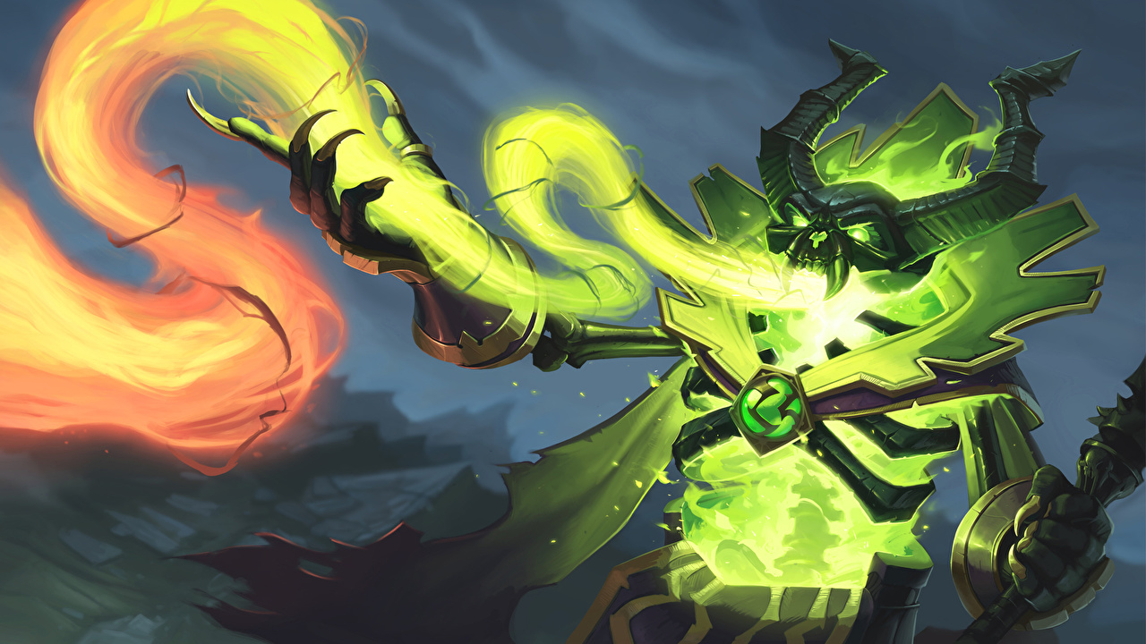 Photo DOTA 2 Pugna Magic Undead monster Fantasy vdeo game sorcery Monsters Games