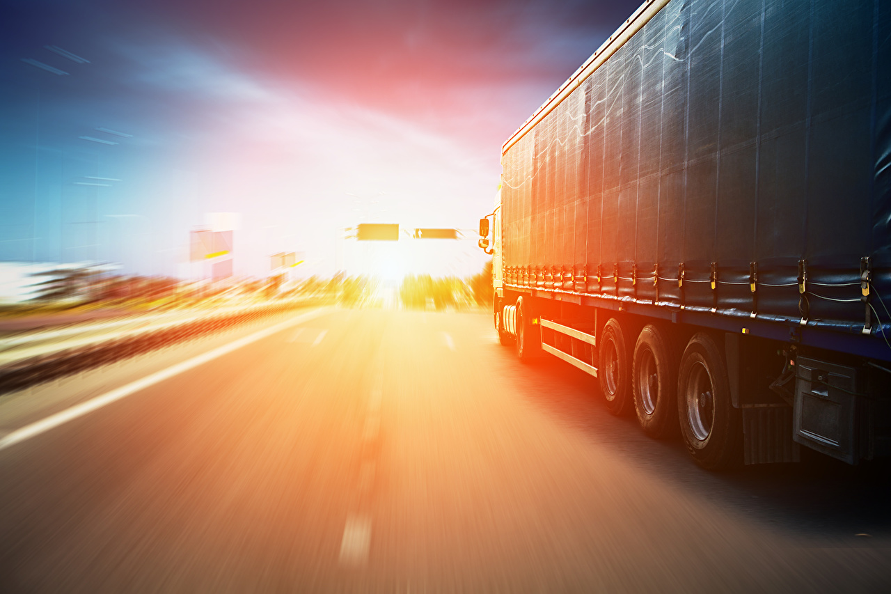 Wallpaper Trucks riding auto lorry moving Motion driving at speed Cars automobile