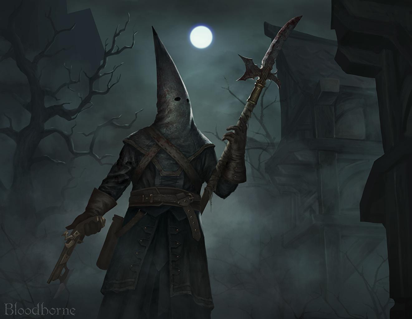 壁紙仮面dark Souls Bloodborne夜月ゲーム