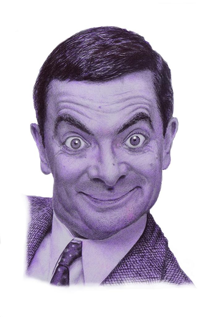 Fondos De Pantalla Varón Mr Bean Rowan Atkinson Cabeza