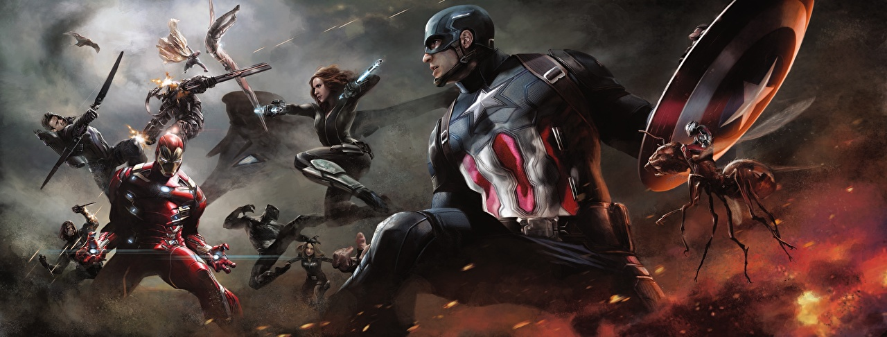 Images Captain America: Civil War superheroes Iron Man hero Captain America hero Steve Rogers Fight Movies Celebrities Heroes comics film
