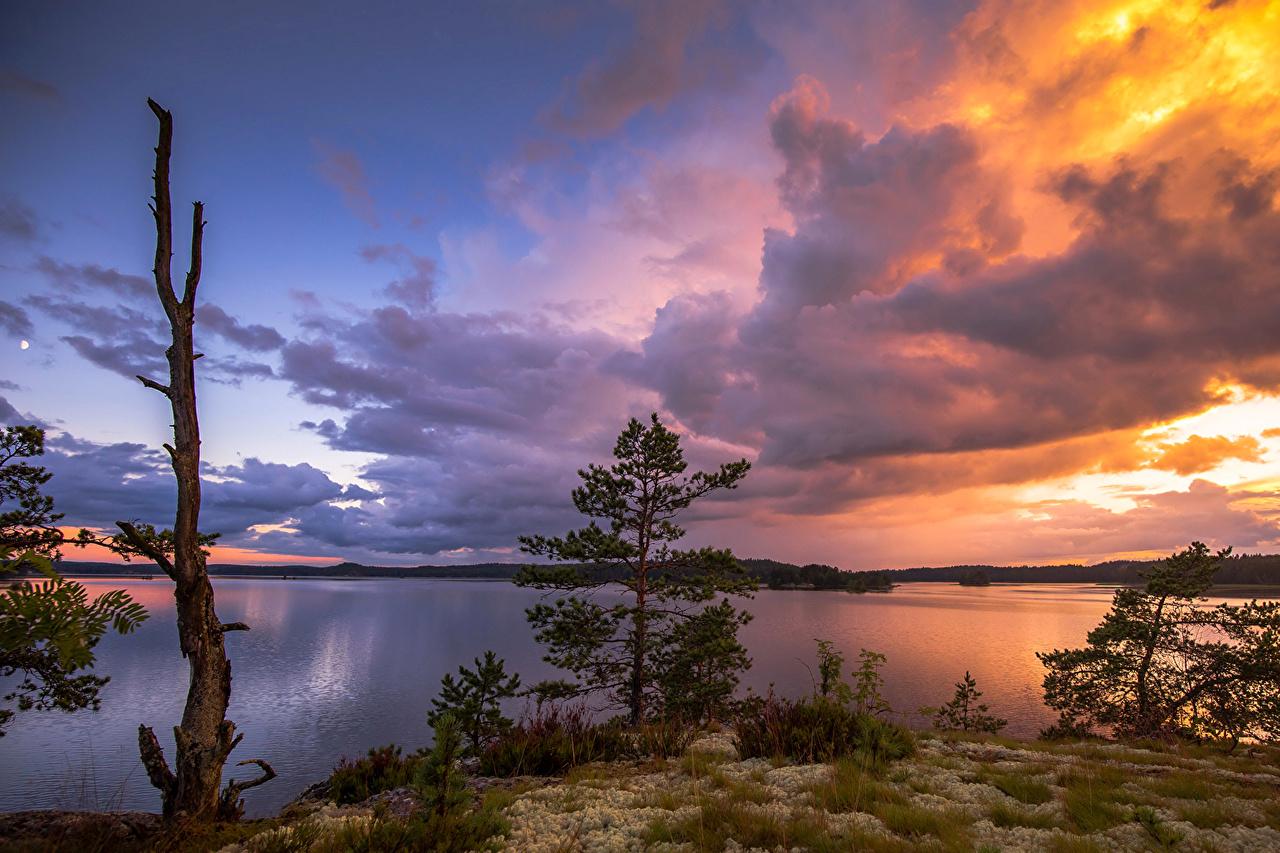 Обои месяц, финляндия. Природа foto 14