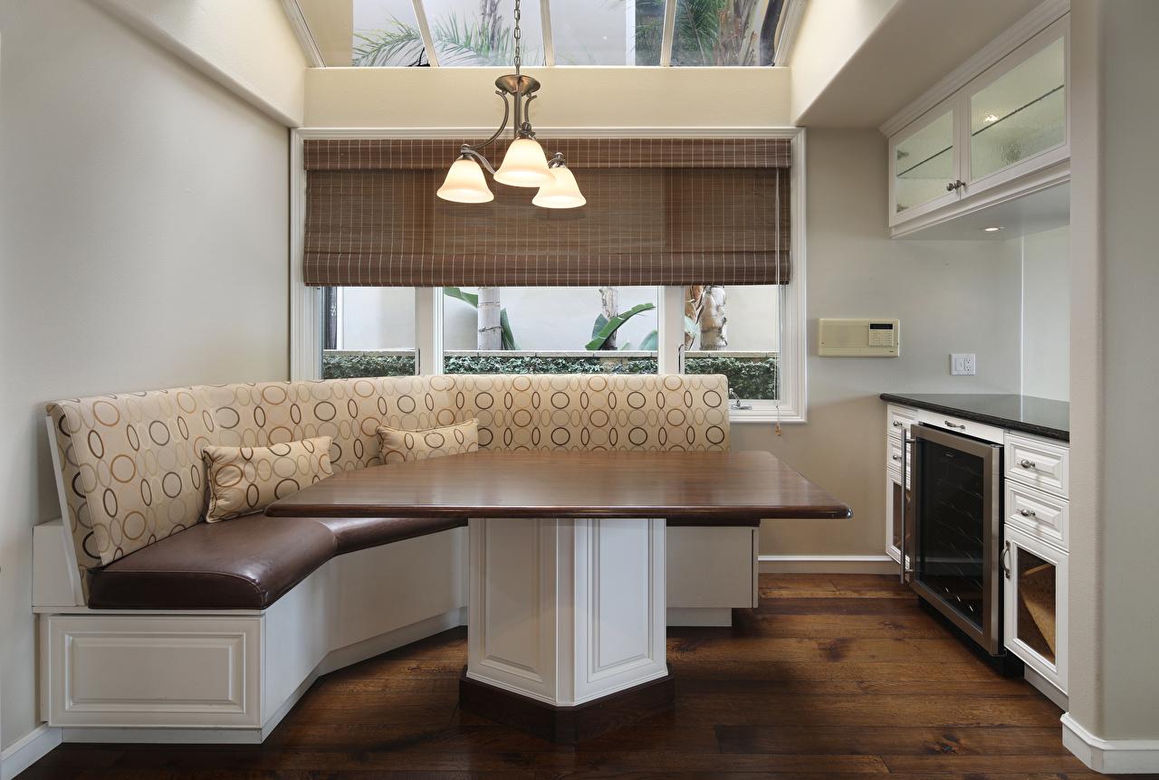 Foto Küche Innenarchitektur Sofa Tisch Design