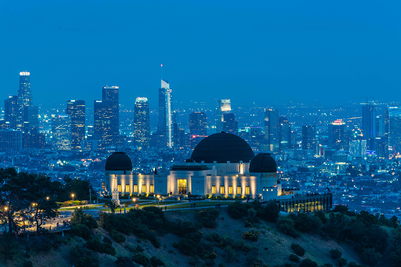 Fotos Los Angeles Vereinigte Staaten Griffith Observatory